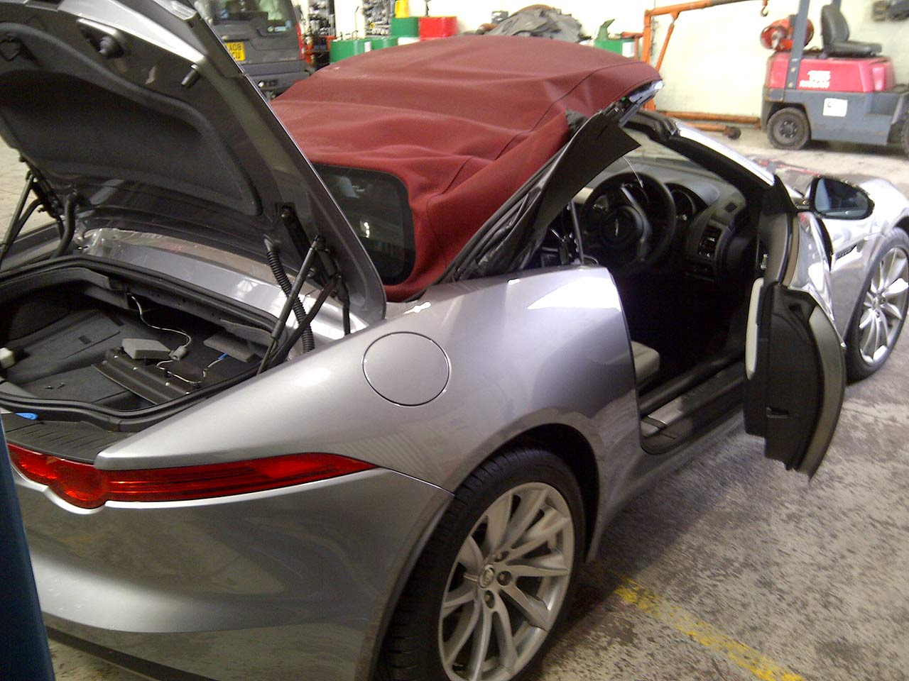 Convertible Hood Replacement Jaguar F-Type