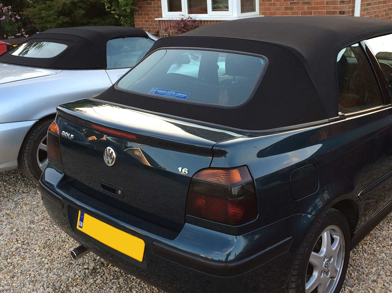Convertible Hood Replacement VW Golf