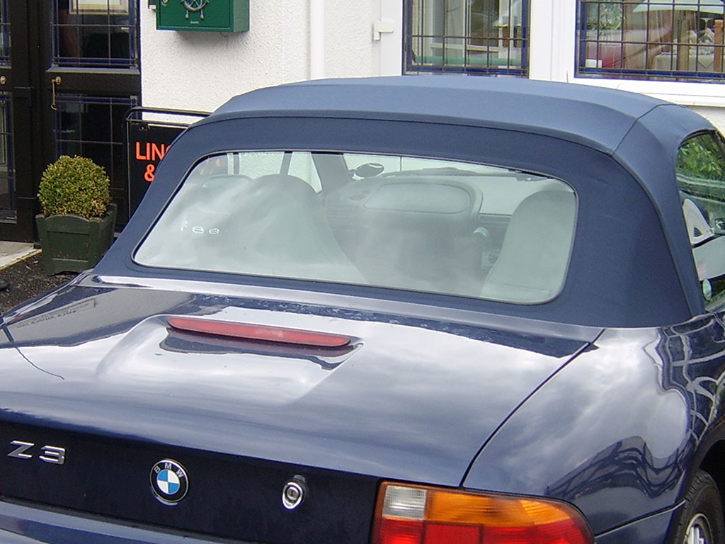 Convertible Window Replacement BMW Z3
