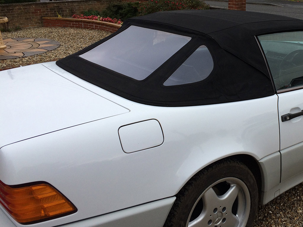 Convertible Rear Window Replacement Mercedes SL