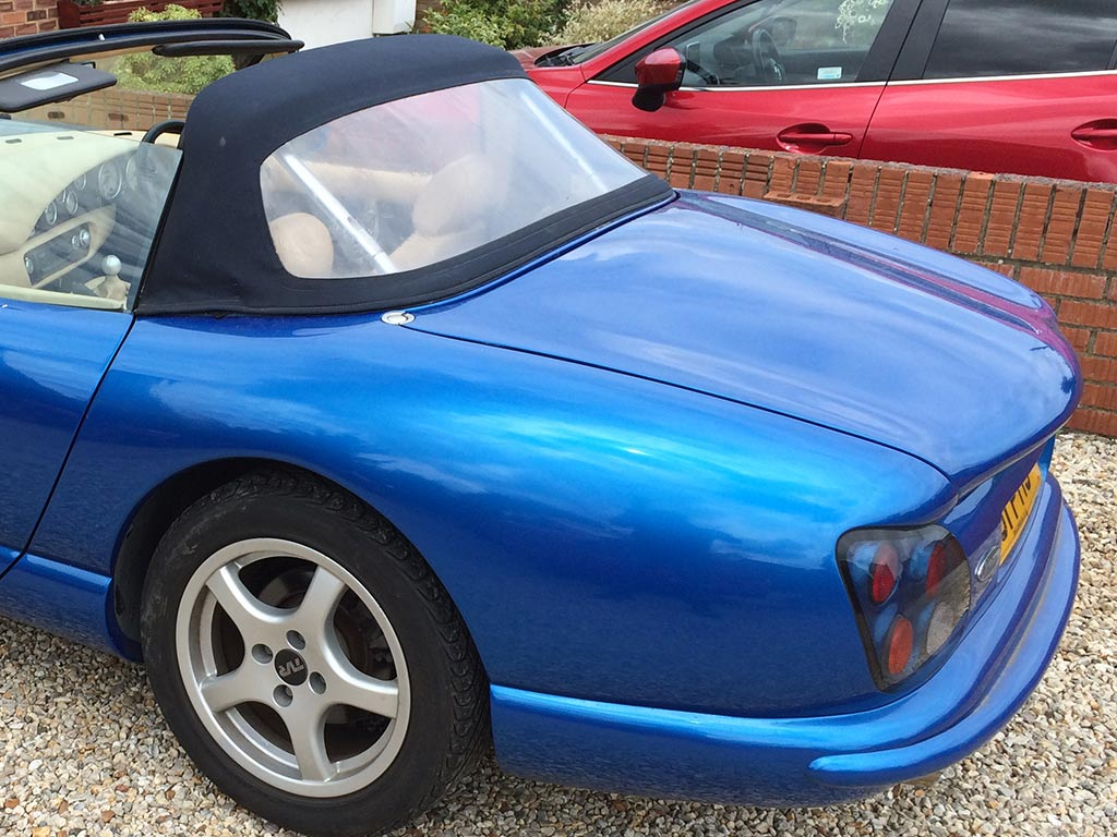 Convertible Rear Window Replacement TVR