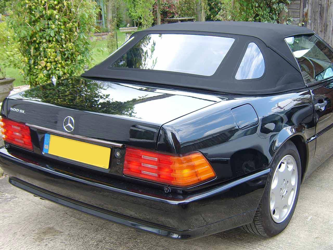 Hood Replacement Mercedes SL500