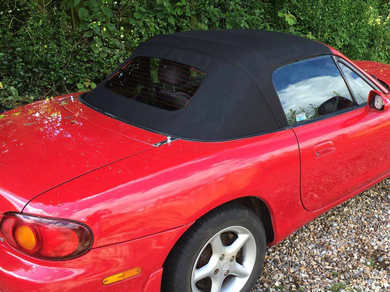 Hood Replacement Mazda MX-5