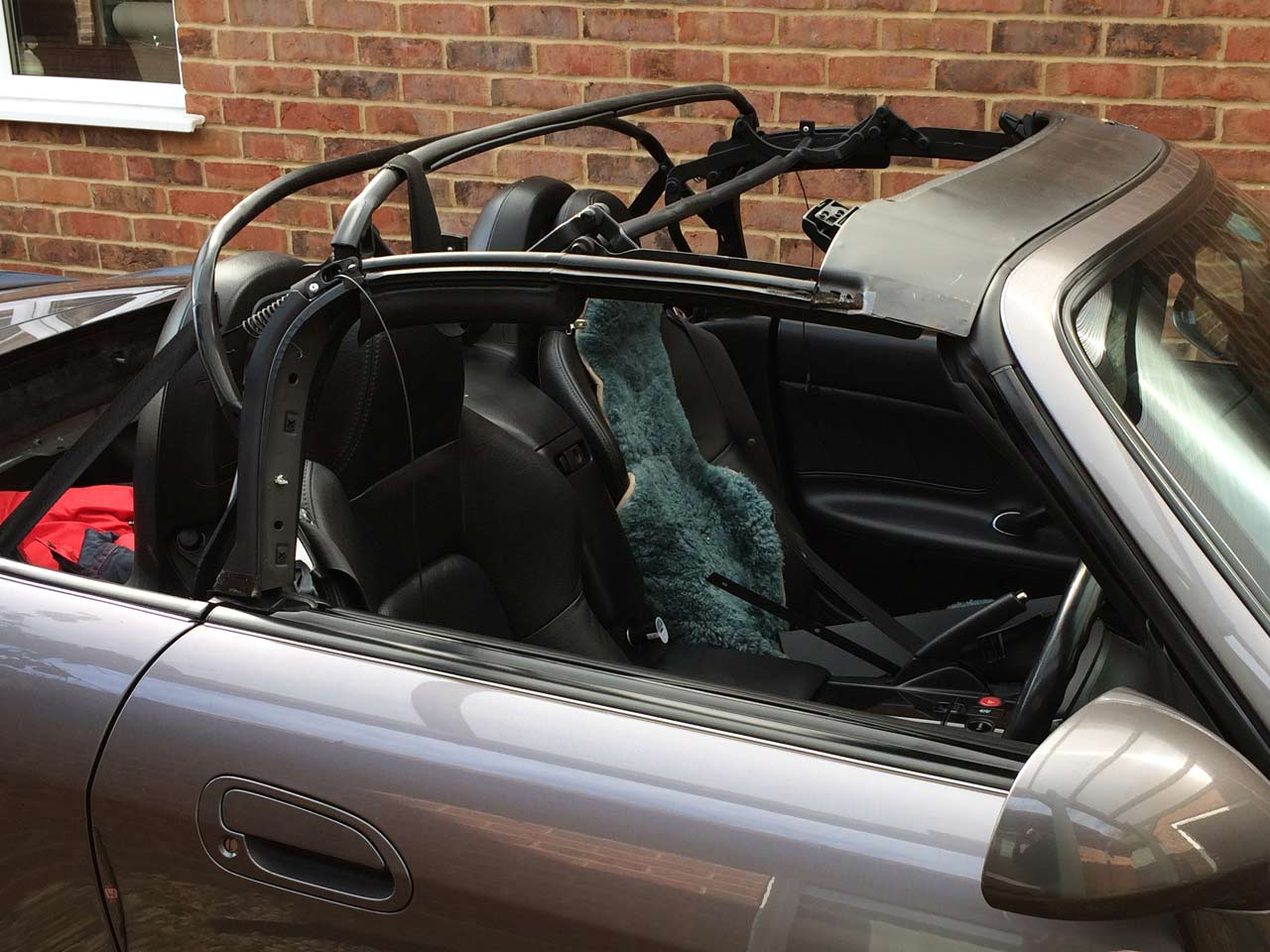 Soft Top Hood Replacement MG TF Frame
